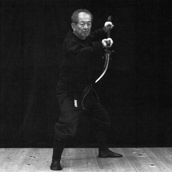 Naginata jutsu par Maitre Hatsumi