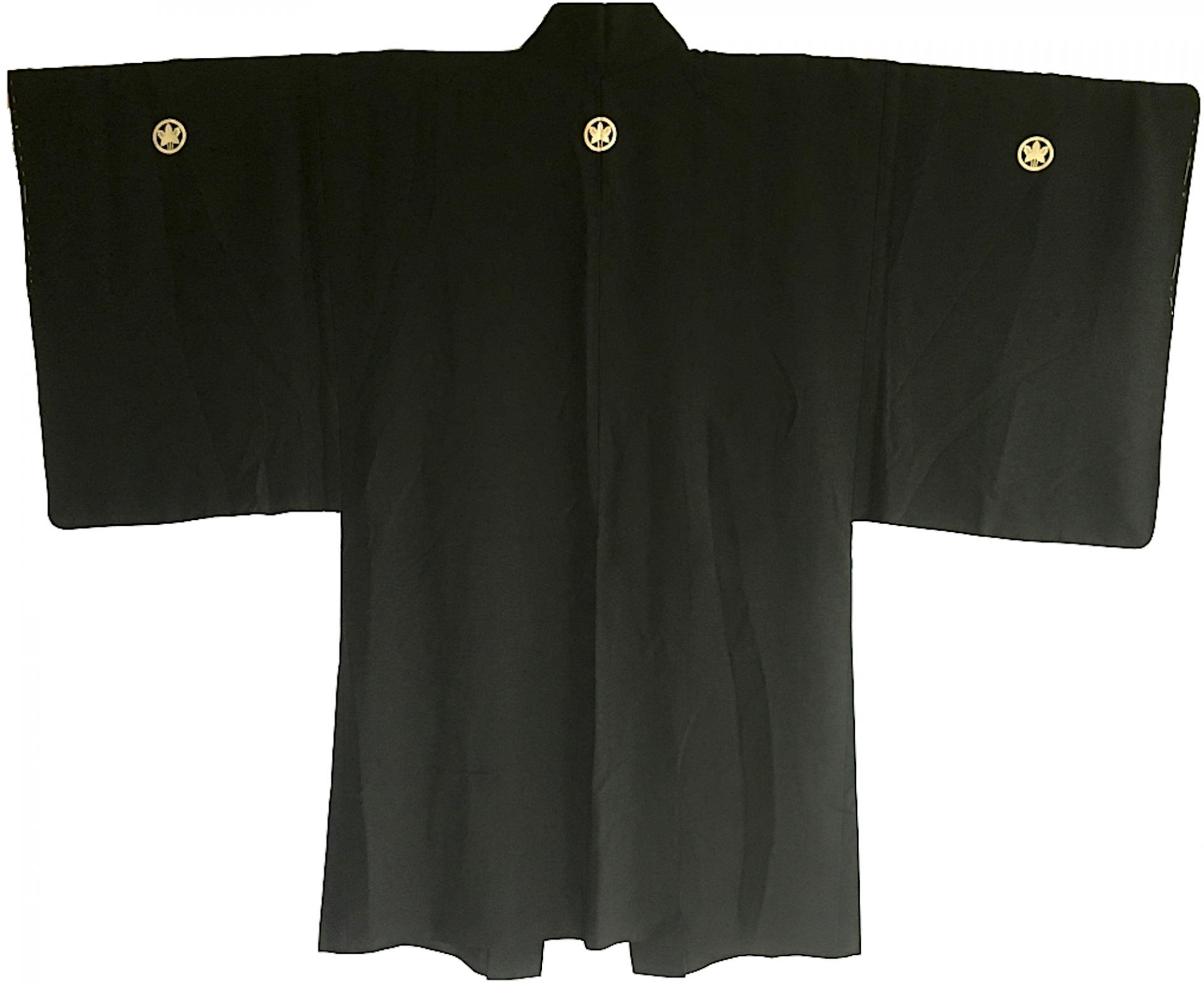 Antique haori samourai kabuki no kodomo montsuki s 1