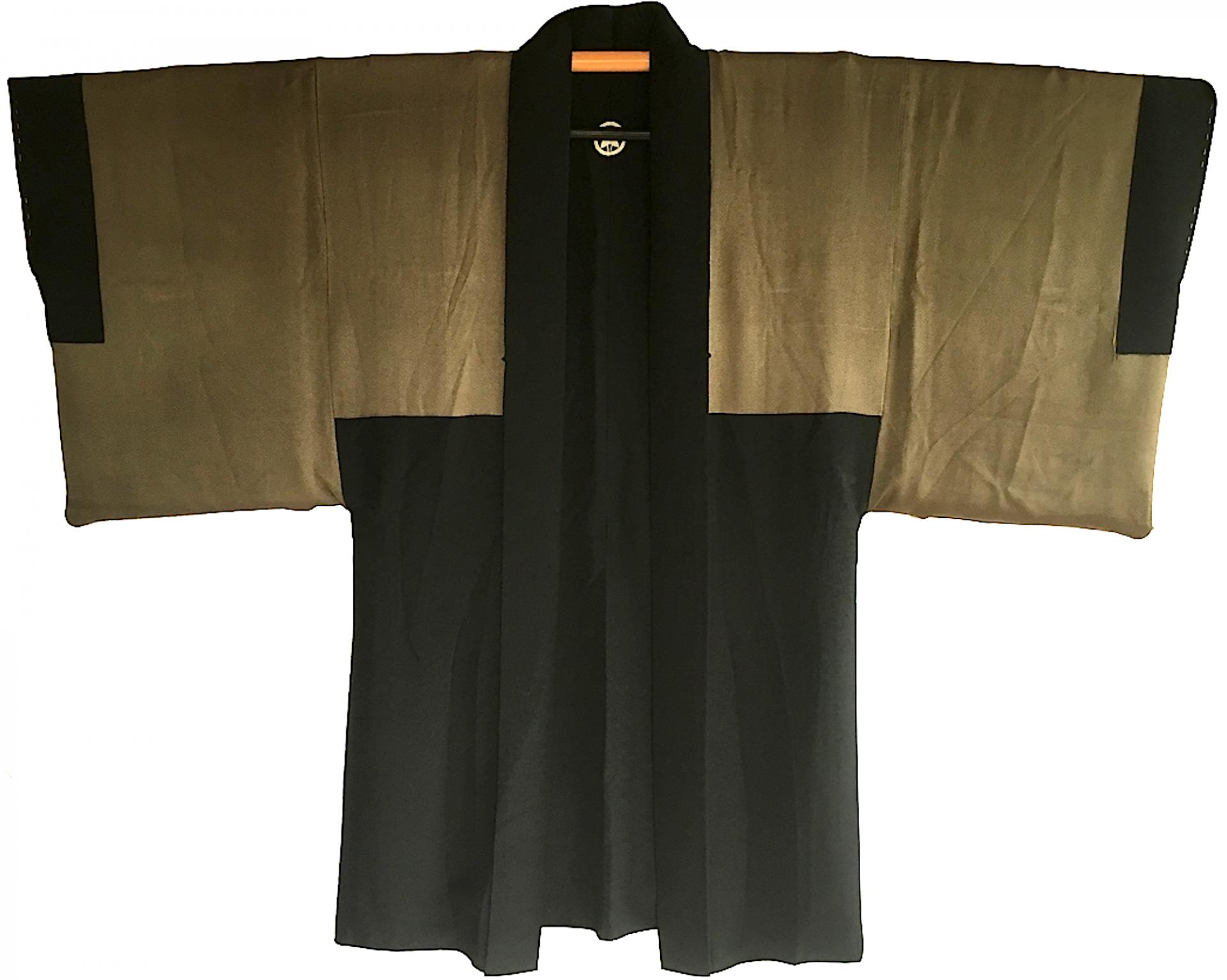 Antique haori samourai kabuki no kodomo montsuki s 2