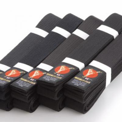 Standart black cotton Tokyodo belt