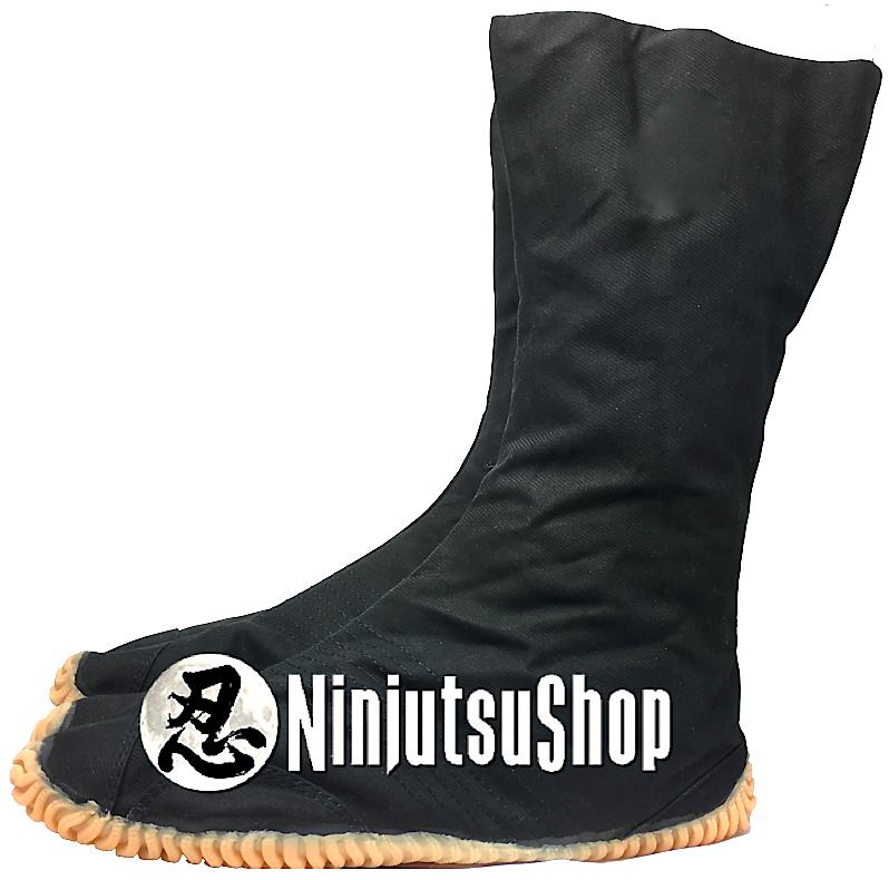 Chaussure ninja noir ninjutsushop com