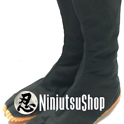 Jikatabi ninja jog 12 kohaze ninja jikatabi shoe black 1 ninjutsushop com