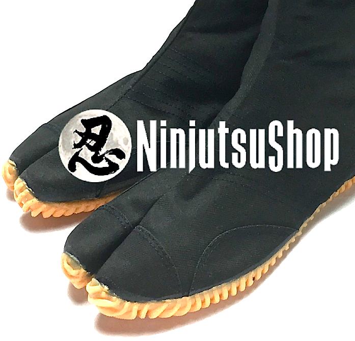 Jikatabi ninja jog 12 kohaze ninja jikatabi shoe black 12 kohaze ninjutsushop com