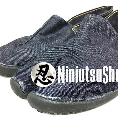 Jikatabi tabirela ninja denim ninjutsushop boutique 100 ninjutsu en direct du japon