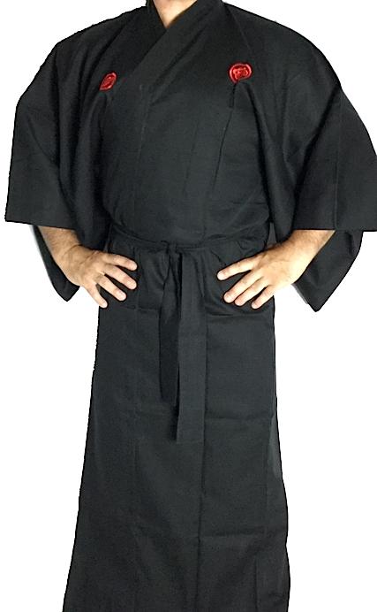 Kimono japonais samourai homme 2