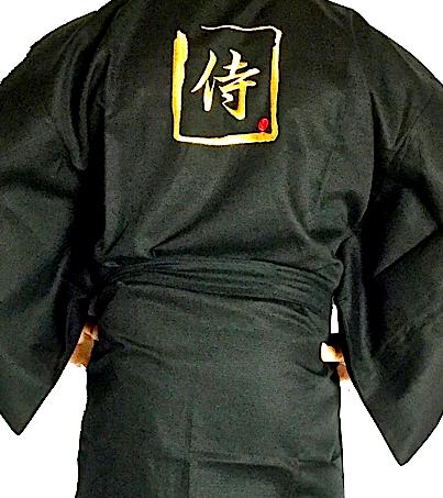 Kimono japonais samourai homme