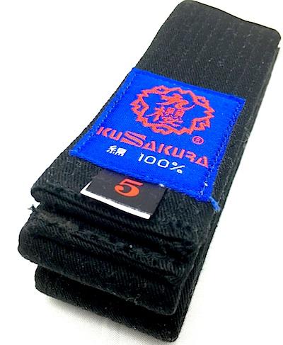 Logo ceinture karate kusakura