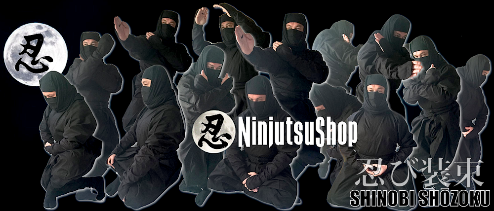 Ninja uniform shinobi shozoku made in japan ninjutsushop