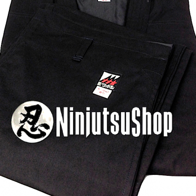 Mitsuboshi Ninjutsu Uniform black cotton