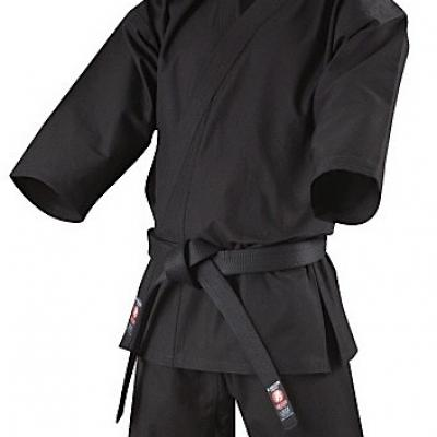 KB-110 Isami black cotton Ninjutsu Gi Uniform