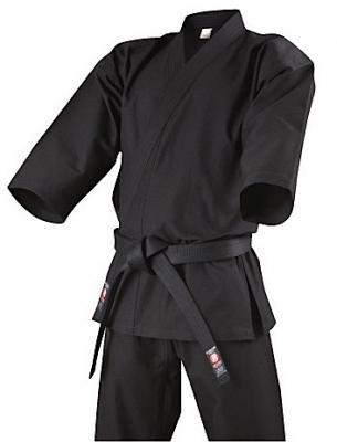 KB-110 Isami black cotton Ninjutsu Gi Uniform