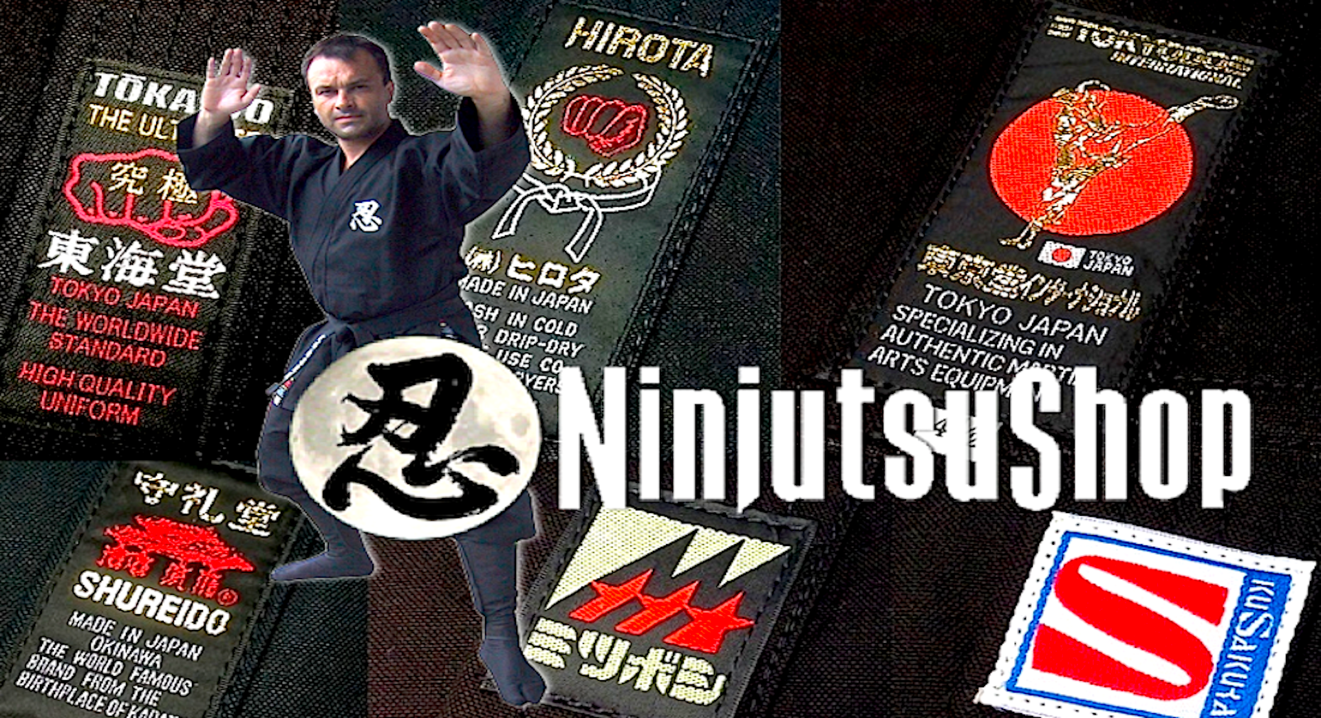 Togakure Ryu Ninpo Shinobi Shozoku Ninja Uniform Set