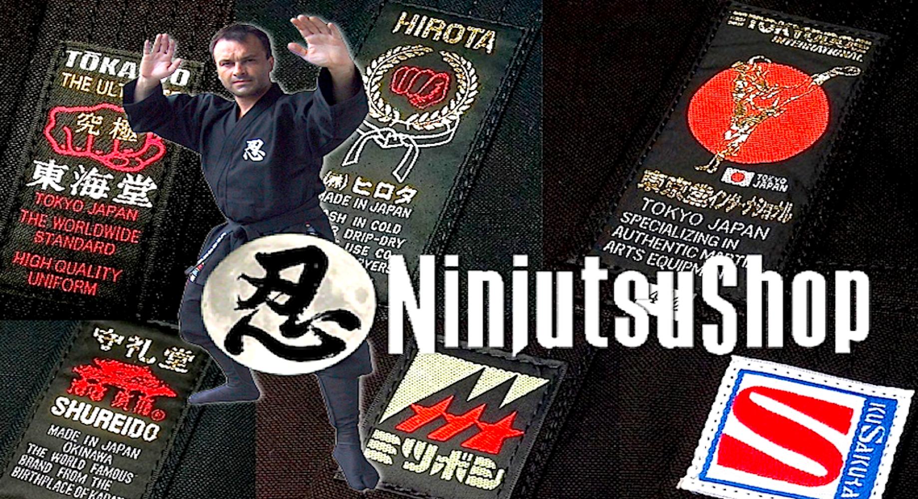 """Le plus grand choix de NinjutsuGi haute qualité """"Made in Japan"""" pour le Ninjutsu !"""