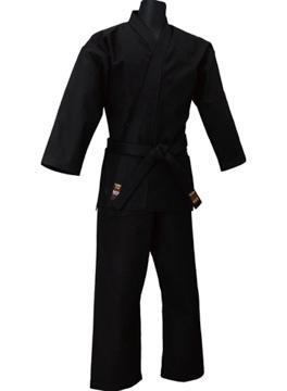 Kongo Sab Tokaido Ninjutsu Gi Uniform Set black cotton