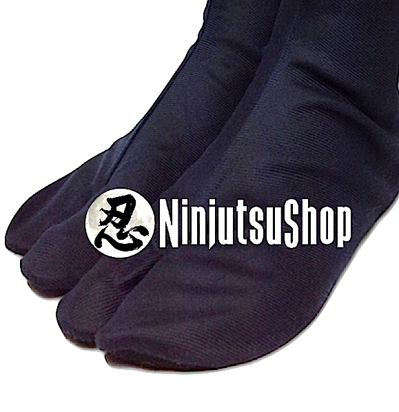 Tabi ninjutsu noir coton made in japan ninjutsushop