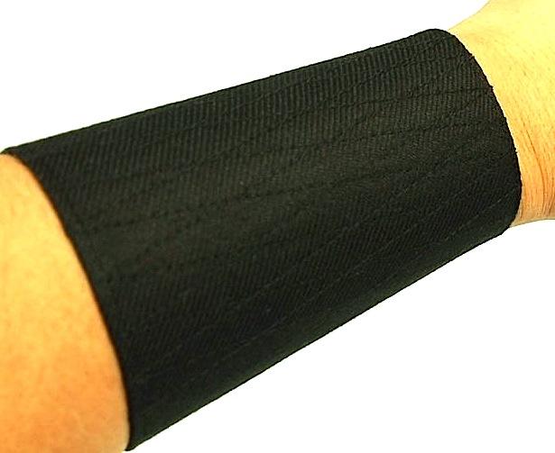 "Tekkou Ninjutsu Dayagara noir coton ""Bande Velcro"""