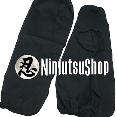 Tekkou traditionnel ninja noir coton ninjutsushop